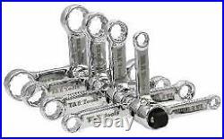 12 Piece 3/8 Drive Torque Adaptor Set T&E Tools 93222
