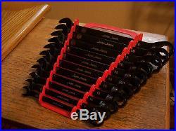 MAC Jesse James Tools 11Pc Metric 12Pt Reversible Ratcheting Box Wrench Set VGC