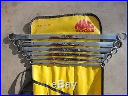Mac tools 6-pc Metric High-Performance Long Double Box Wrench Set SBHFM62K
