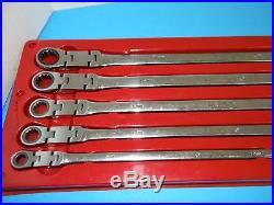 Klutch Extra-Long Spline Drive Flex Ratcheting Wrench 17mm x 19mm