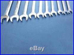 Snap On Metric Ratcheting Wrench Set, Soexrm710 10mm 19mm Soexrm10 Soexrm19