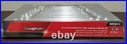 Snap On Tools NEW Metric Flank Drive Combination Wrench Set 10MM-19 MM SOEXM710