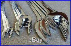 Unused snap on tools usa 11pc slimline low torque 6mm 36mm spanner wrench set