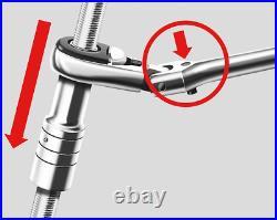 WURTH PASS-THROUGH RATCHET ASSORTMENT 096513036 Socket Set Wrench Automotive